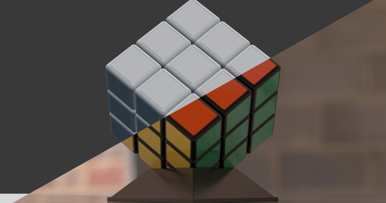 Rubik's Cube Animation Breakdown