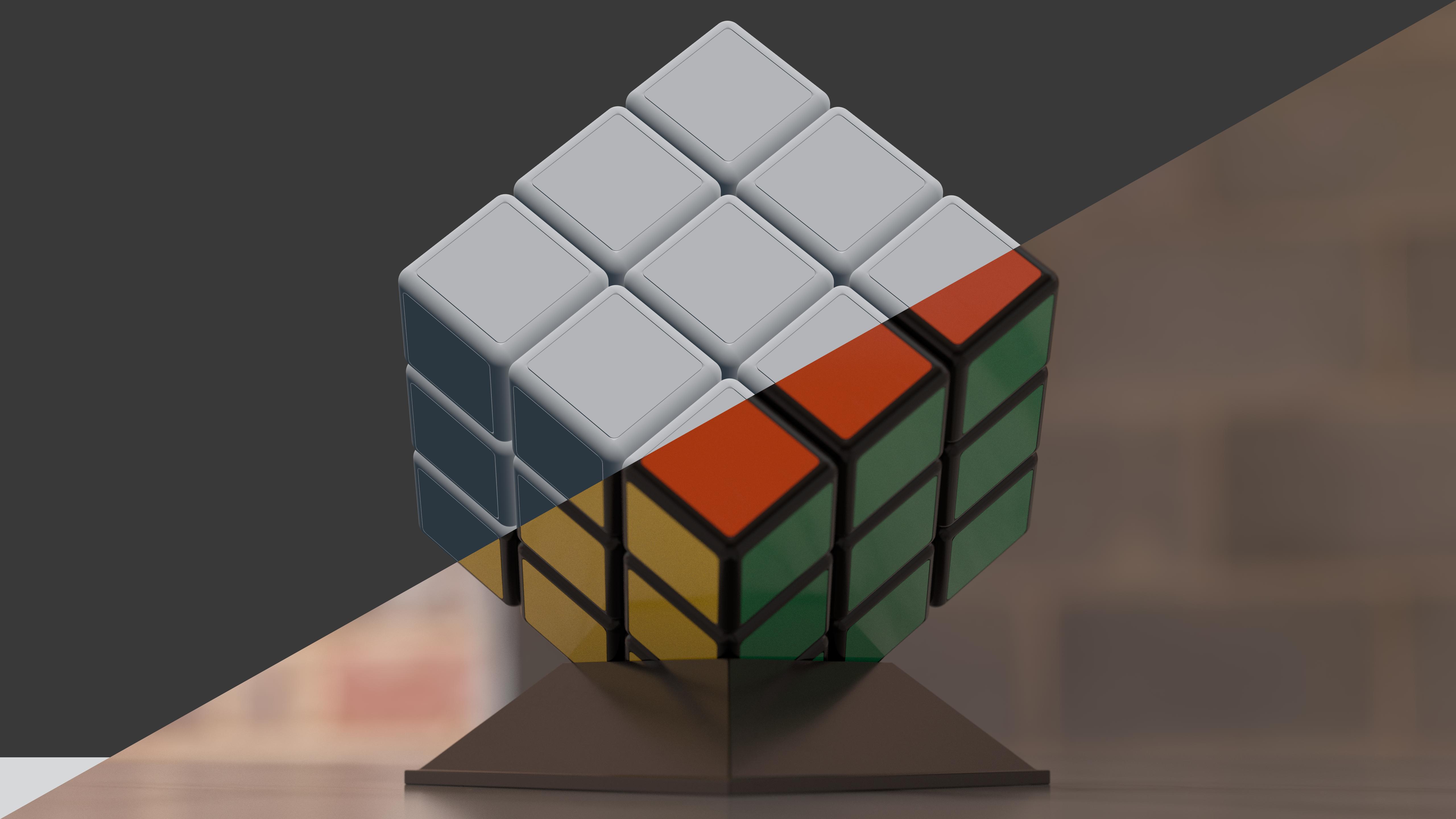 Rubik's Cube Animation Breakdown